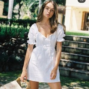 with jean || juliette mini dress NWT